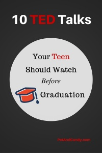 10 TED Talks Your Teen Should Watch Before Graduation