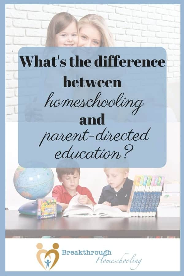 "Some may call it semantics, but parent directed education can embrace so much more than ""just"" homeschooling!"