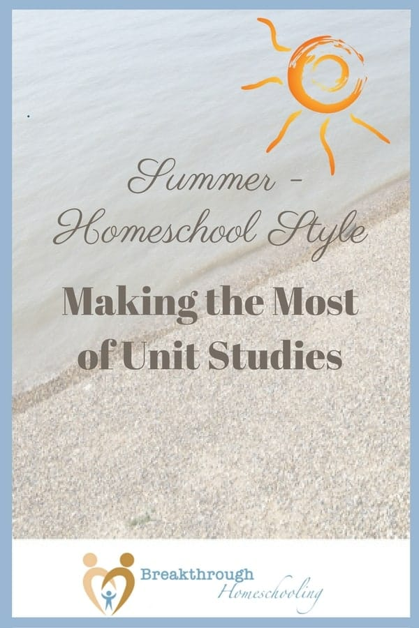 "Just because it's summer doesn't mean our brains should go on hold! Have fun AND keep learning - enjoy summer ""Homeschool Style""!"