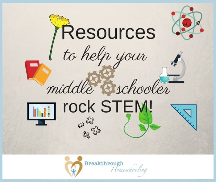 "If you were ""in a stew about STEM"", like I was...these STEM resources are sure to help your middle schooler or older rock their STEM studies!"