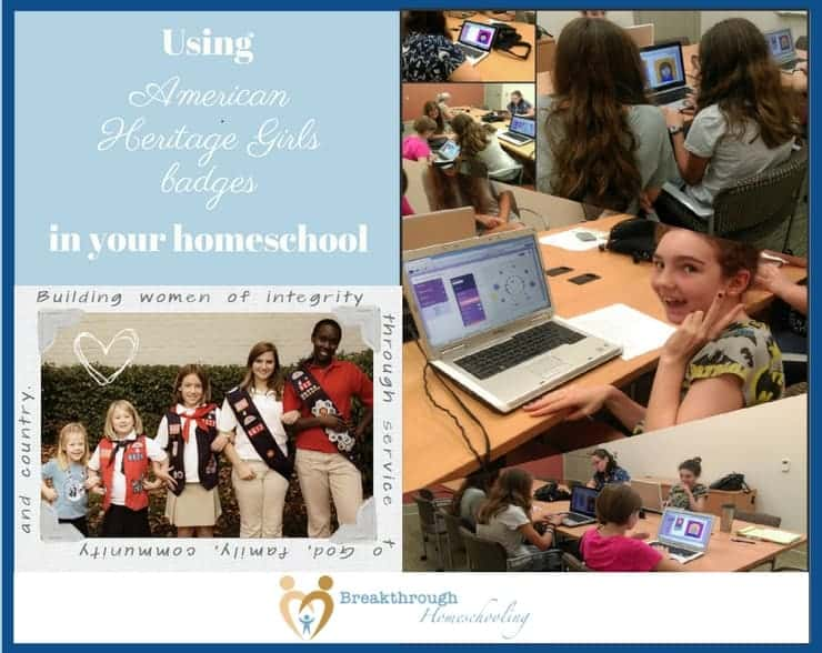 If you're looking into American Heritage Girls for your own daughter, or if you're already involved, why not consider incorporating the practical skills being taught through this program into her middle school or high school studies?