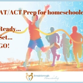 Wondering how to prepare your college-bound high school homeschooler for testing? Here are 3 formats, and a great program, for SAT prep and ACT prep at home