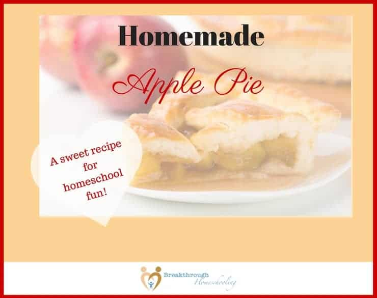 Making an apple pie - or spending ANYtime in the kitchen - can be a sweet way to spend time with your kiddos!