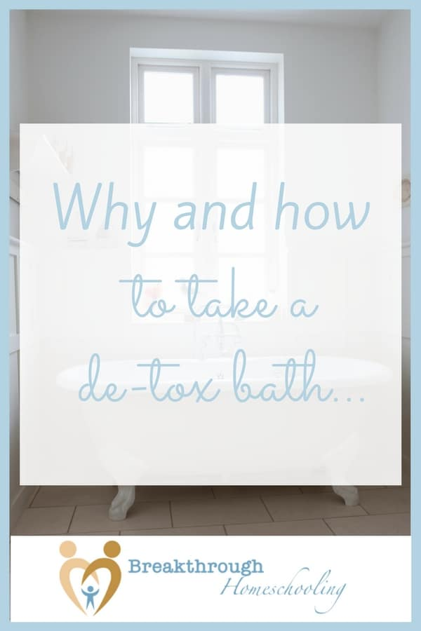 We're bombarded with toxins on a daily basis. One simple, inexpensive way we can safely remove unwanted toxins is by taking a detox bath. The skin is a highly porous membrane and adding the right minerals to bath water will help to safely remove those pesky invaders.