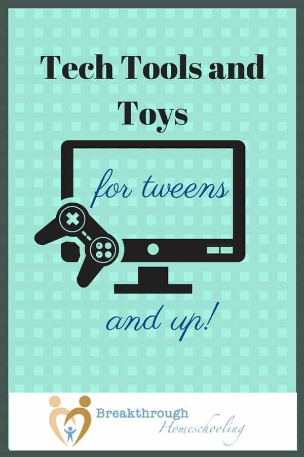 Tech Toys are all the rage - find some educational AND fun items in this list! And happy gifting :-)