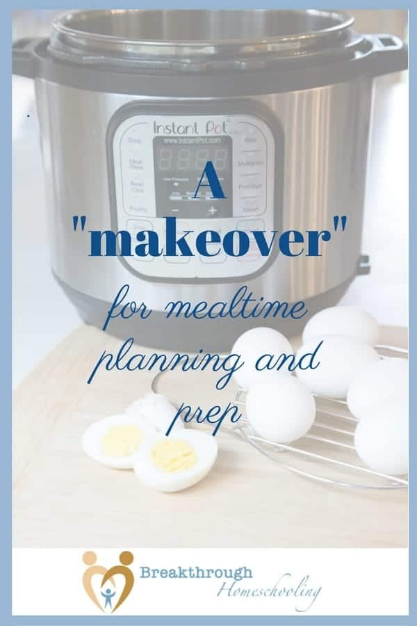 If your mealtime planning and prep could use a makeover...this may be just the ticket!