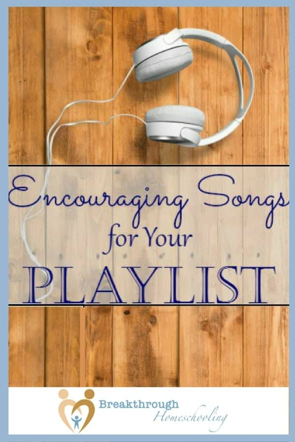 I'm a true believer in the power of music. Encourage yourself with this playlist of both Christian and secular tunes to help you do and be your best!