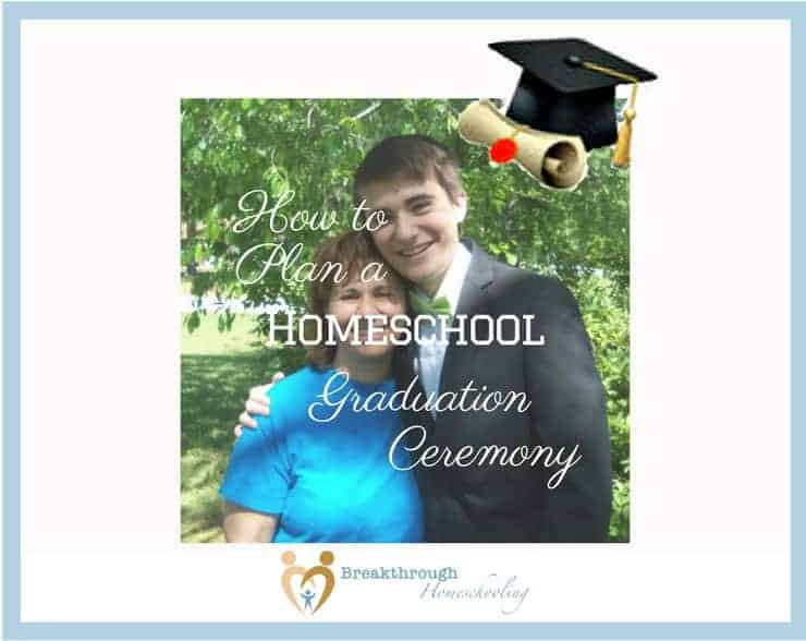 A homeschool graduation ceremony, whether it be sweet and simple or a complicated event, can be a touching way to mark this oh-so-significant event in your family's life!