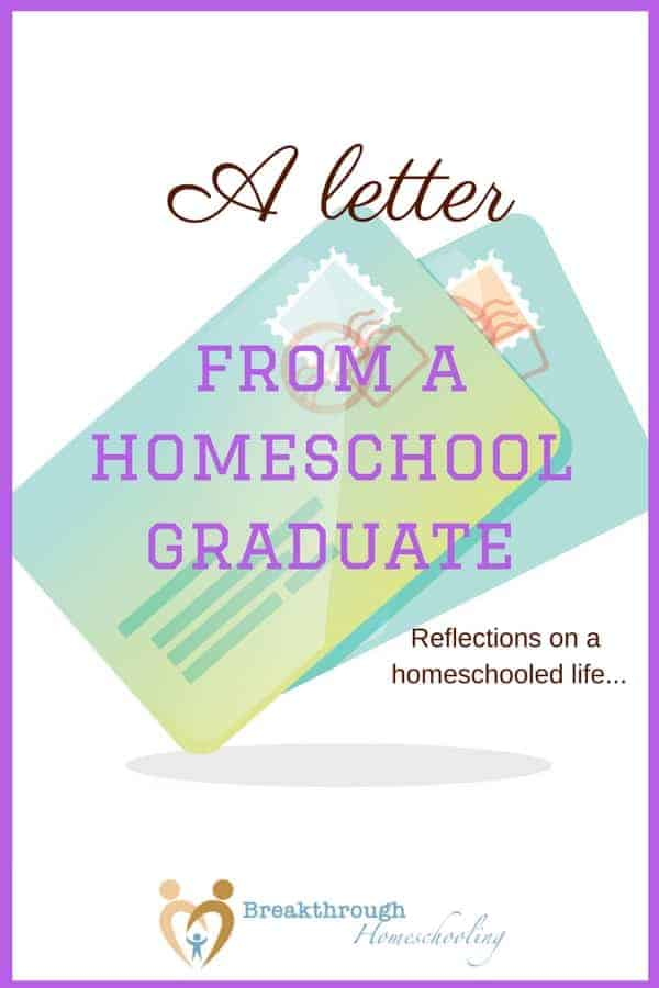 Being a homeschool graduate certainly gives one a unique perspective on homeschooling. From a college essay on the topic...