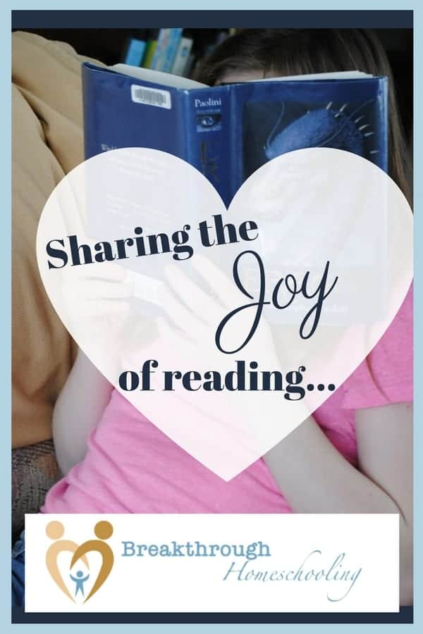 Sharing the joy of reading is (one of) the greatest privileges we have as parents! I started reading out loud to my children almost 23 years ago when my oldest was so new to this world he couldn't even hold up his sweet little head.