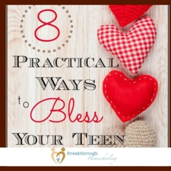 These practical ways to bless your teen aren't exactly rocket science. In fact, they're much simpler...and FAR more effective!