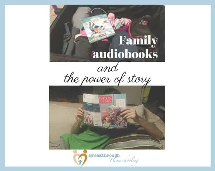 Focus on the Family's Adventures in Odyssey family audiobooks are a great way to connect with your teens, too!