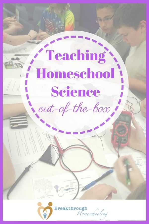Yes, believe it or not, you can tailor a student-perfect science program for your high school homeschoolers, even if they're college-bound! Teach homeschool science out-of-the-box...get started here.