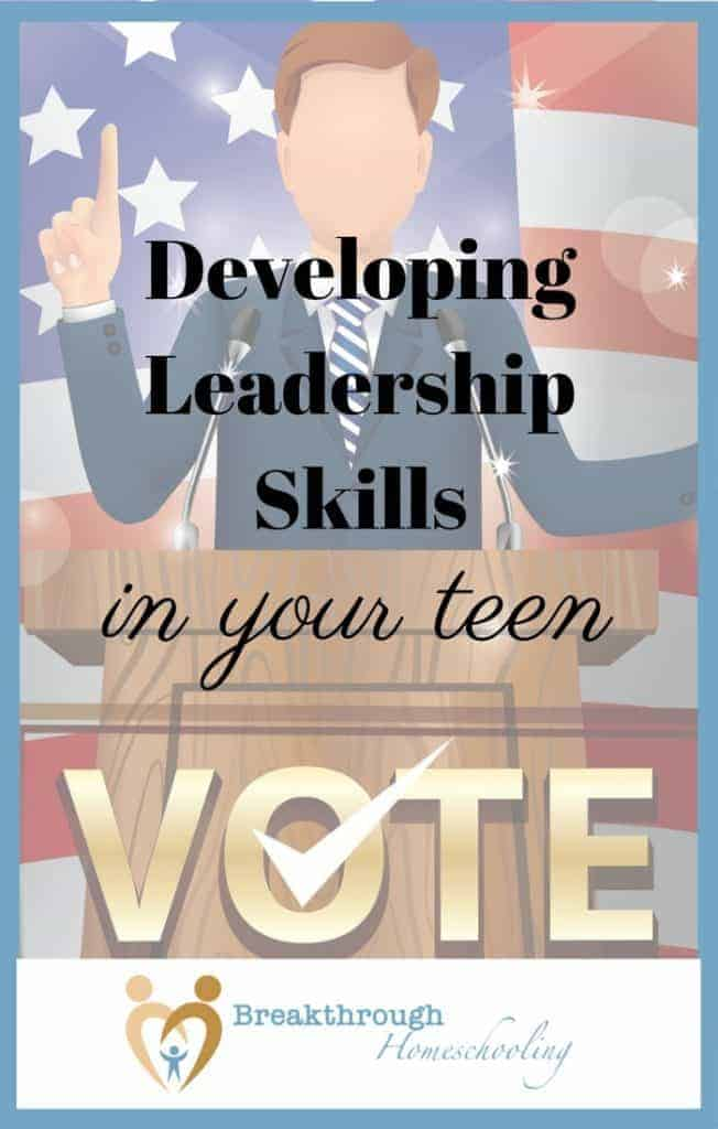 While I don't want you to shoulder complete responsibility for your teen's  future (you most likely give yourself enough grief),  there are simple steps you can take to get them started on the right track and become the future leaders they'll need!