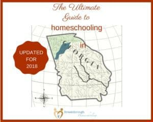 Inside you'll find the skinny on homeschooling in the Peach State. *With updated regional homeschool convention dates for 2018!