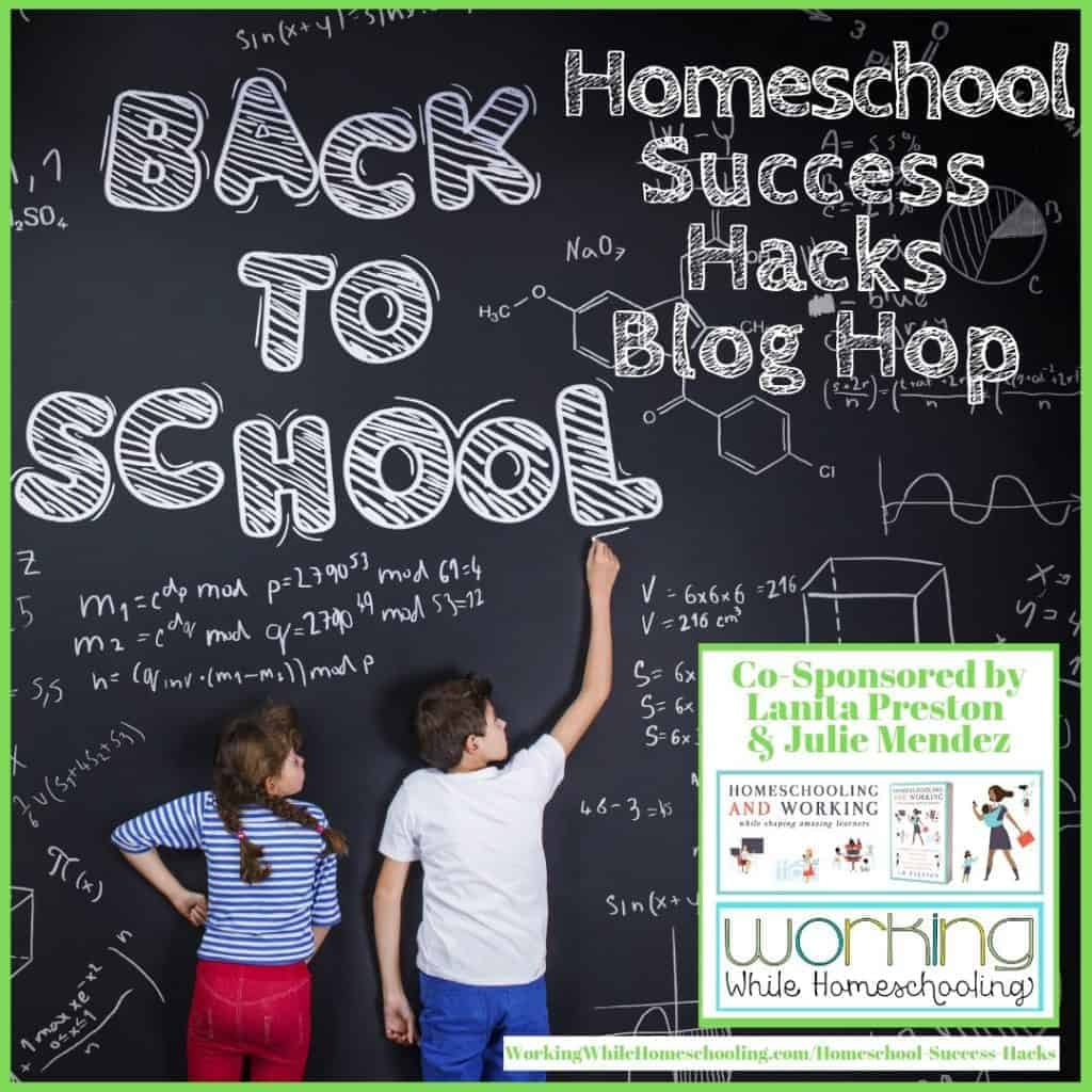 Follow along on the Homeschool Success Hacks Blog Hop!