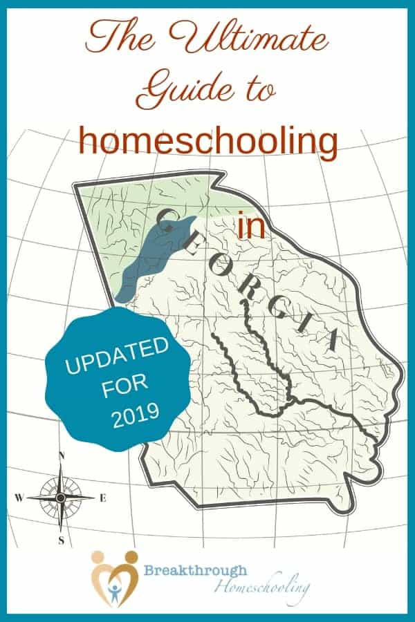 Inside you'll find the Ultimate Guide for homeschooling in the Peach State. *With updated regional homeschool convention dates for 2019!