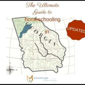 New to homeschooling in GA? Grab this updated Guide!