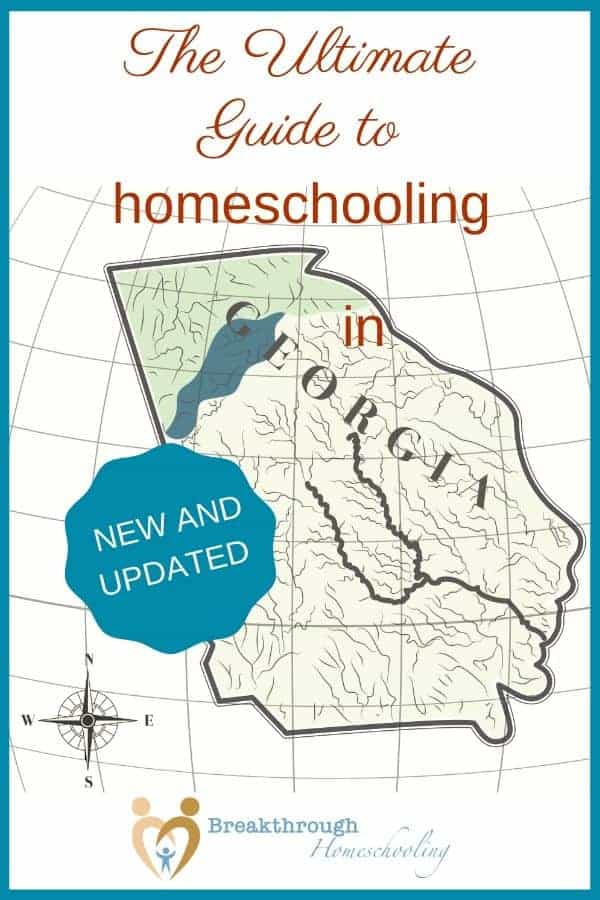 The Guide contains everything you need to get started homeschooling in GA!