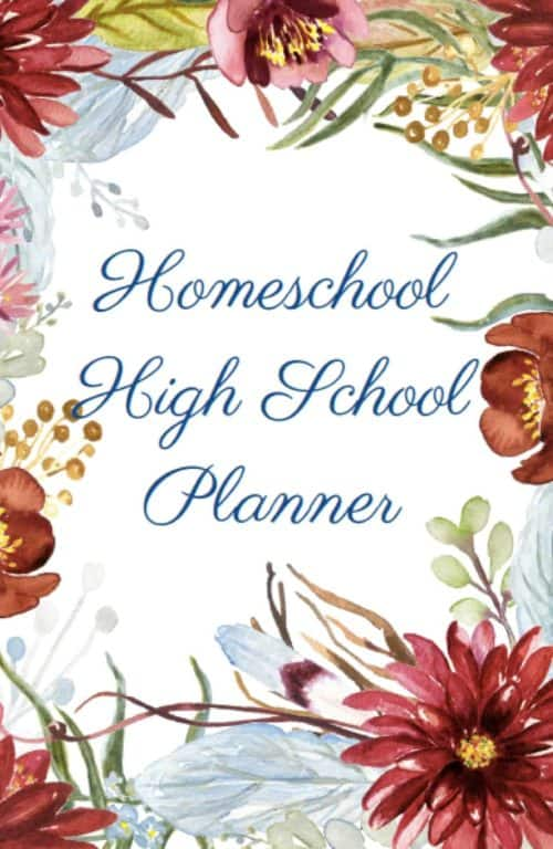 Grab your copy of the brand new Homeschool High School Planner from BreakthroughHomeschooling today!
