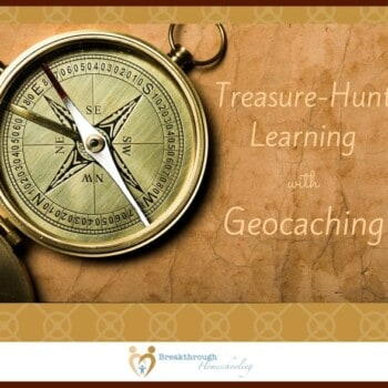 """This generation doesn't really need much training in the use of technology, but preparing our kids for a lifetime of learning does require us to """"connect the dots"""" at some level. Geocaching is a fun, outdoors activity to show them how technology can be used for practical problem-solving. And a fun family time!"""