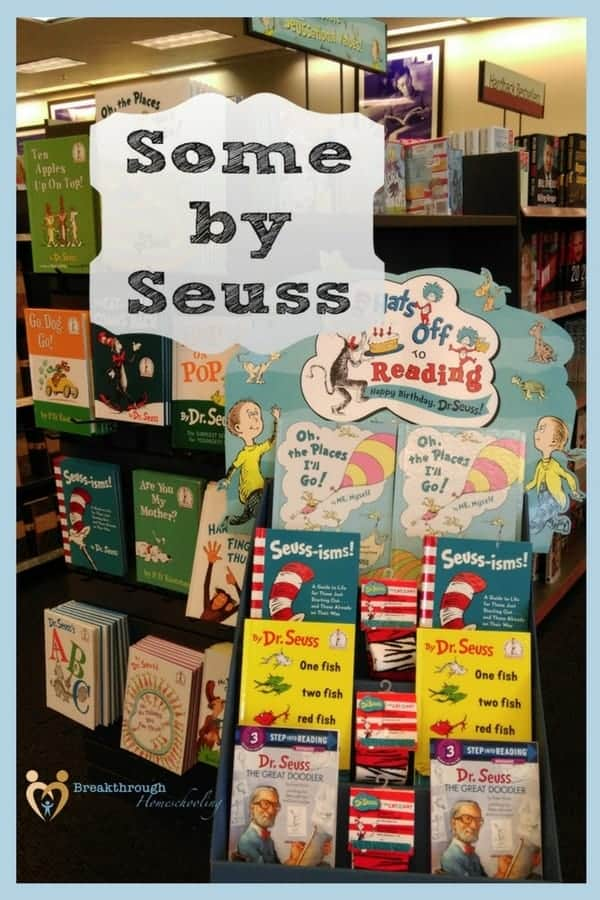 The wisdom contained in these Dr Seuss books still applies to us today! His writing is truly timeless and will appeal to the whole family...