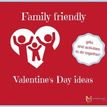 Valentine's Day doesn't HAVE to be a celebration of romantic love. Show your love and appreciation to the fam with some of these simple and fun ideas!