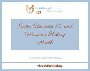 Enjoy this unique Easter resource and a special way to celebrate Women's History Month!