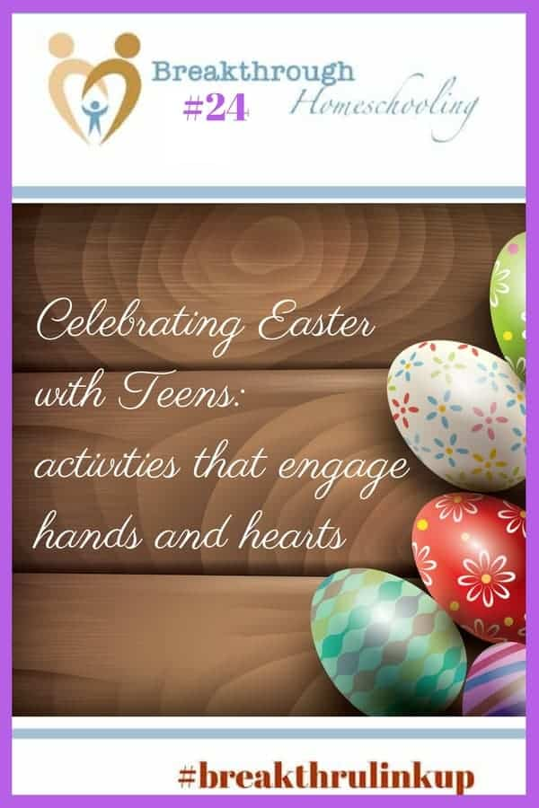 Celebrating Easter with teens around the house can still be fun and meaningful. These activities will engage the whole family this year!
