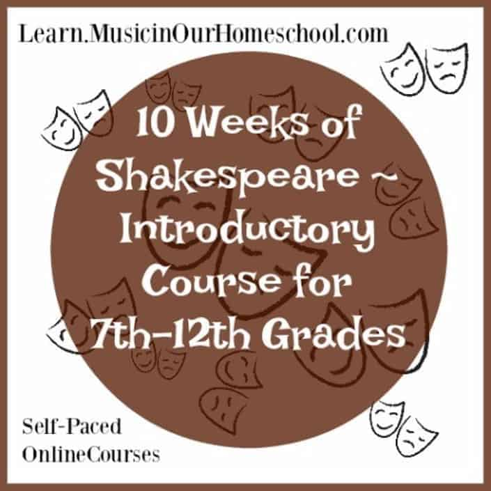 10 Weeks of Shakespeare for high school students