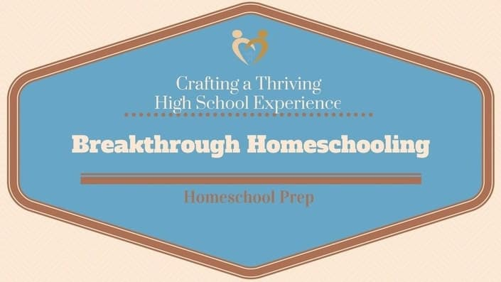 When you want to prepare to homeschool high school: Crafting a Thriving High School Experience for your Homeschooler will get you up to speed!