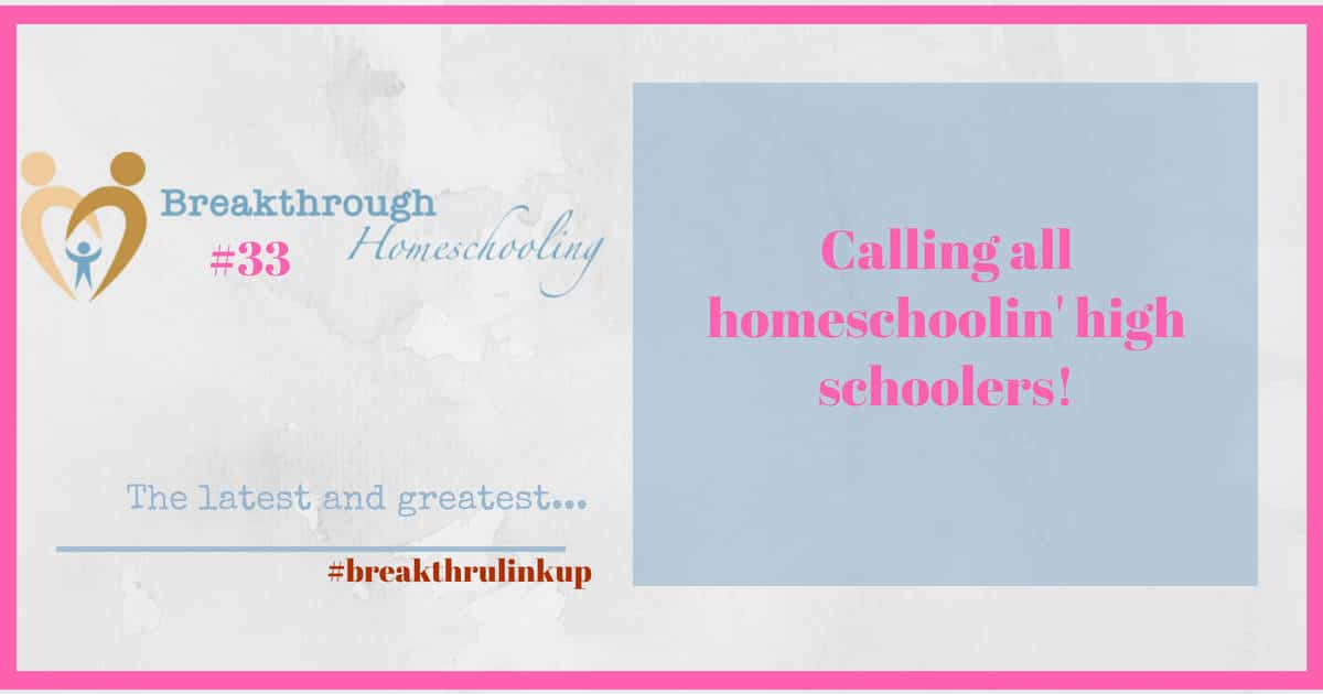 Welcome to #breakthrulinkup 33 - I'm sure you'll appreciate some of these great resources!