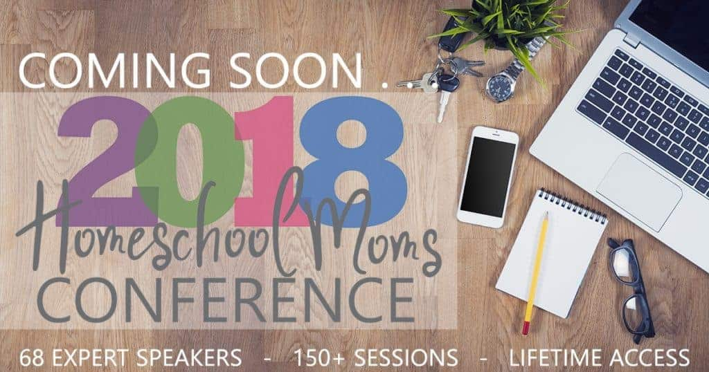 The 2018 Homeschooling Moms Conference brings all the benefits of a homeschool conference right into your own home!