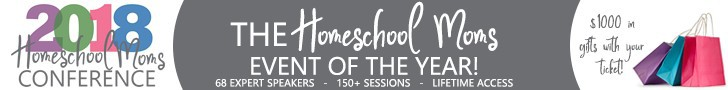 The 2018 Homeschool Moms Conference is THE event of the season! Can't get to a homeschooling conference this year? Well, let it come to YOU!