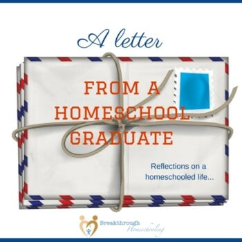 """From a college essay on the topic: a perspective on homeschooling from someone who's really """"been there, done that!"""""""