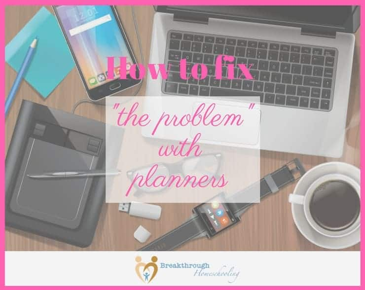 The problem with planners is multi-layered...but it's not what you might think!