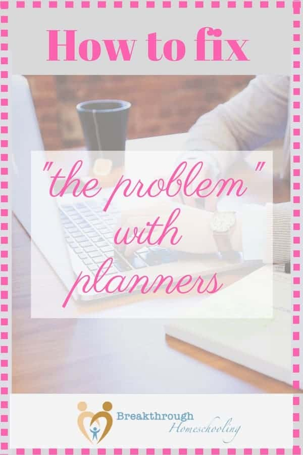 "What's ""the problem"" with planners? It's not what you might think!"