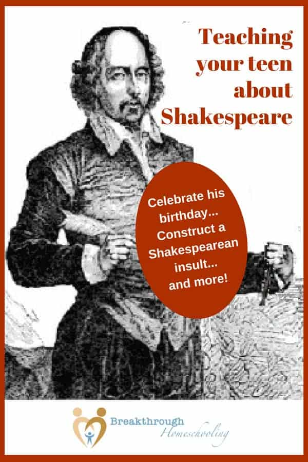 "Celebrate Shakespeare's birthday (in April) or learn about him as part of a high school lit course - lots of resources here to study ""the Bard!"""