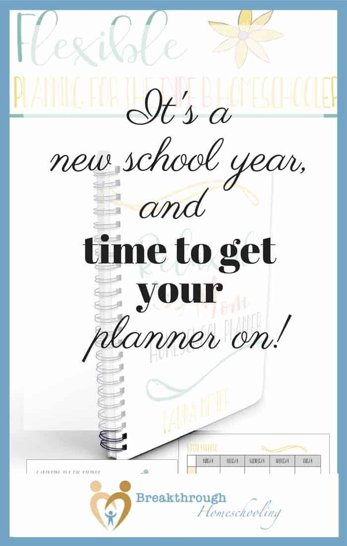 The Relaxed Mom Homeschool Planner comes with a unique feature to help you overcome the challenges you may be feeling about using these things! Yes, you CAN learn how to plan your homeschool and household with confidence