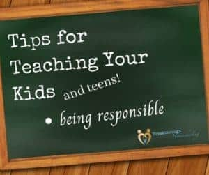 "Being responsible means ""the buck stops here!"" Teach it early!"