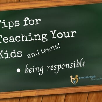 """Being responsible means """"the buck stops here!"""" Teach it early!"""