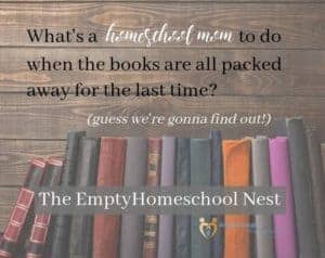 The Empty Homeschool Nest project
