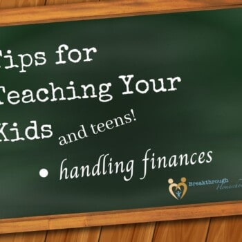 Teaching your kids about money - it's never too late OR too early!