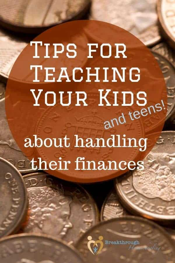 It's never too early, or too late, to start teaching your kids about money!