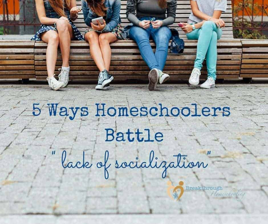 How homeschoolers encourage socialization
