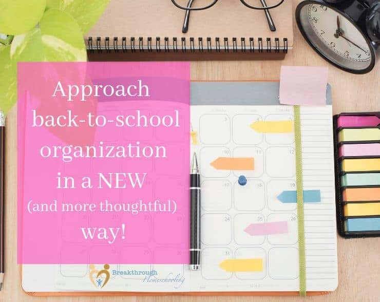 Grab these back-to-school organization tips