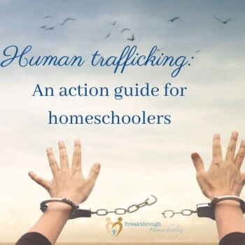 Let's work together to stop human trafficking!