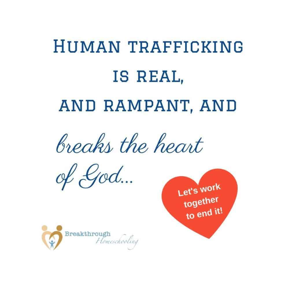 Working together to stop human trafficking