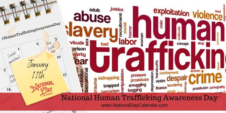 Spread asareneds during Human Trafficking Awareness day!