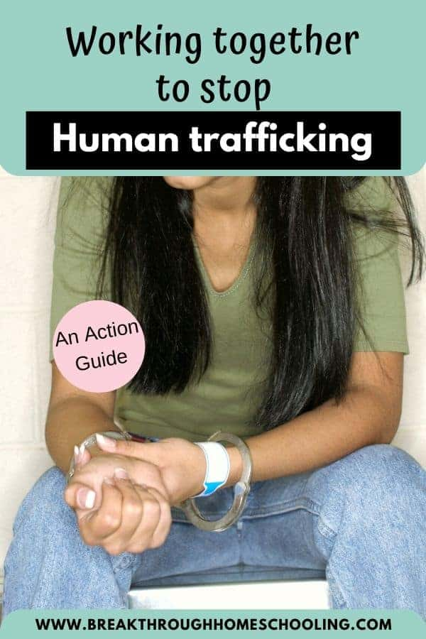 8 Ways to get started in the fight against human trafficking